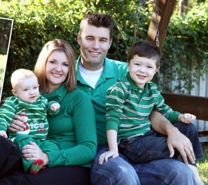 Kristi Jones, Southern Regional Director, and her family