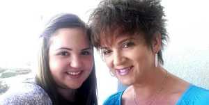 Dana and her daughter, Sloane.