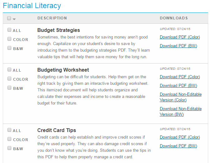 Financial Literacy Month Is Coming Nelnets Blog For Financial Aid