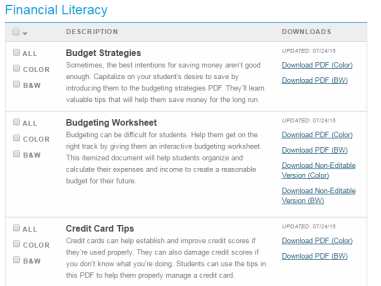 7bb0953ca Financial Literacy Month